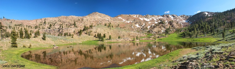 Upper Boulder Lake, Trinity Alps Wilderness